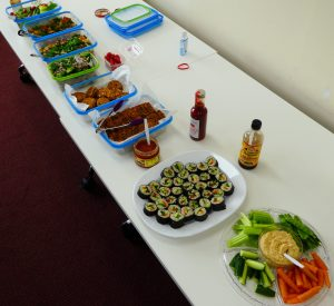 A light WFPB lunch is provided at full day seminars