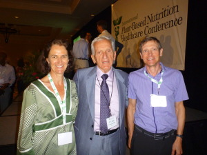 Jenny and Malcolm with Prof. T Colin Campbell, PBNHC Conference