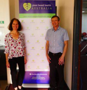 Jenny Cameron and Dr Malcolm Mackay