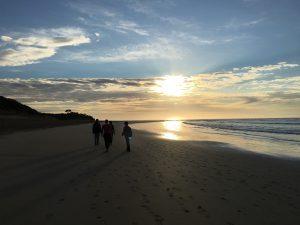 Morning beachwalk at Anglesea